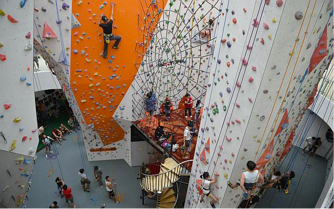 Central Climb in Singapore