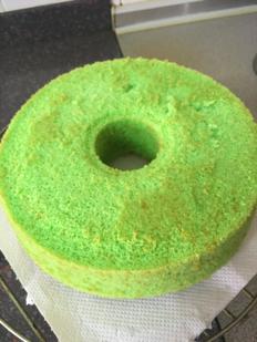 Finish Whole Pandan Cake