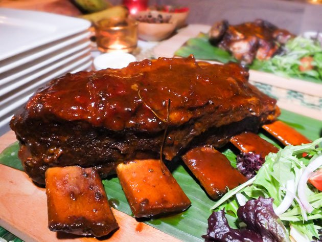 Ribs at The Lime House in Singapore