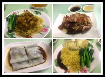 Dishes at Legendary Hong Kong