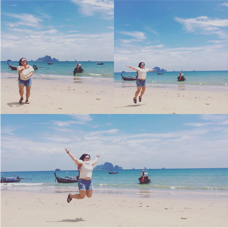 Beach in Krabi Thailand
