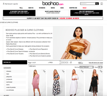 boohoo clothing