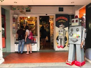 Cosmic Robot in Singapore