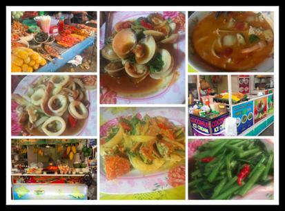 Food in Krabi Thailand