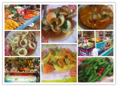 Food in Krabi Thailand
