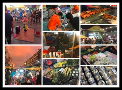 Markets in Krabi Thailand