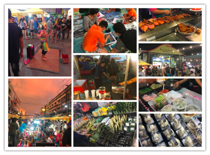 Markets in Krabi Thailand
