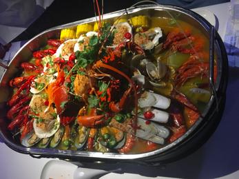 Pot of Seafood