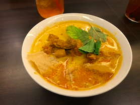Penang seafood curry laksa