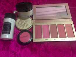 Setting Powder and Blushes