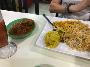 Jalan Kayu Nasi Mutton Briyani