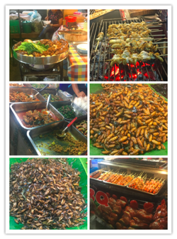 Food Stalls in Bangkok