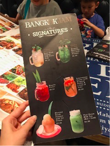 Bangkok Jam Signature Cocktails