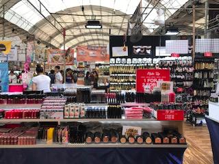 Cosmetics at Geylang Bazaar