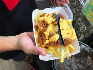 French Fries at Geylang Bazaar