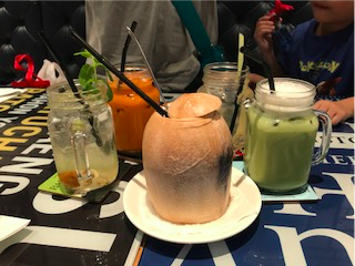 Frozen Drinks at Bangkok Jam
