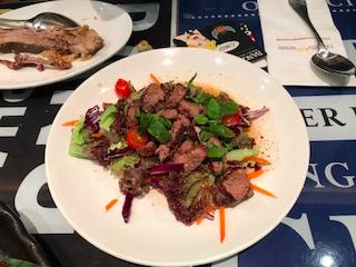 Grilled Australian Wagyu Beef Salad