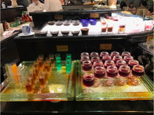 Jelly Desserts at Vienna International Seafood and Teppanyaki Buffet Restaurant