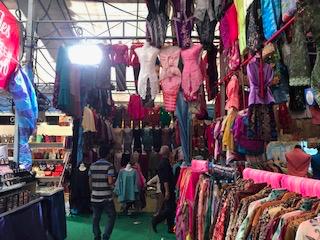 Shopping at Geylang Bazaar