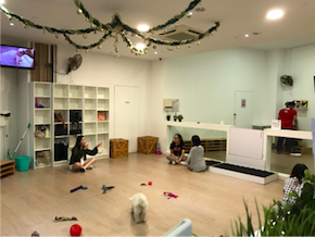 Play area at We're the Furballs