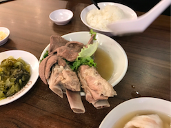 Pork Ribs at Song Fa Bak Kut Teh