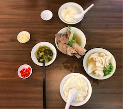 Song Fa Bak Kut Teh Meal in Singapore